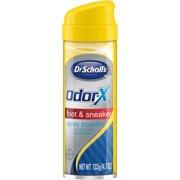 Dr. Scholl's Odor-X Foot & Sneaker Spray Powder, 4.7 oz