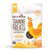 Full Moon All Natural Human Grade Dog Treats, Chicken, 6 Ounce