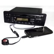 Honda Civic 2001 2003 Radio Am Fm Cd Aux Input W Code Part 39101