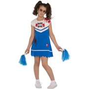 ae07a0f4d Not So Cheery Girls Zombie Ghost Cheerleader Halloween Costume-M