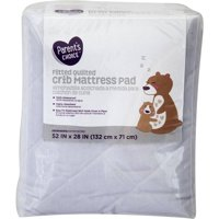 Parent's Choice Fitted Quilted Crib Mattress Pad