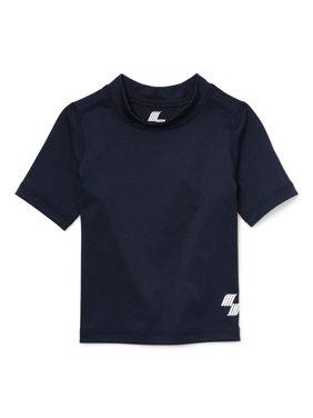 Short Sleeve Solid Rashguard (Baby Boys & Toddler Boys)