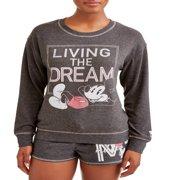 Women's and Women's Plus Mickey Mouse Pajama Set