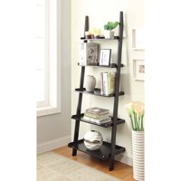 Convenience Concepts American Heritage 5-Shelf Bookshelf Ladder, Multiple Finishes