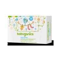 Babyganics Dryer Sheets, Fragrance Free, 120 Count