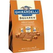 Ghirardelli Squares Milk Chocolate & Caramel Chocolates, 15.9 Oz.