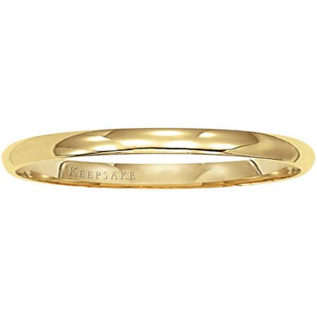 14kt Yellow Gold Wedding Band, 2mm