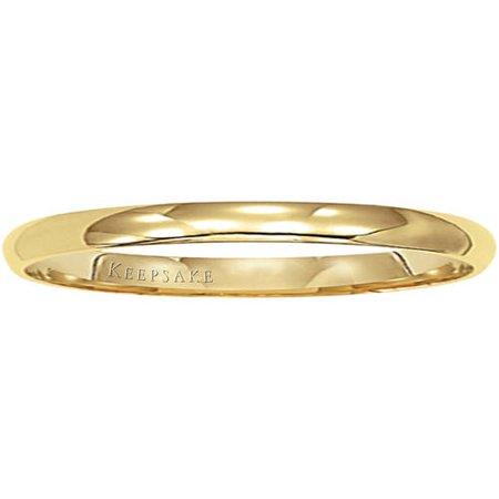 14kt Yellow Gold Wedding Band, 2mm - Superhero Wedding Bands
