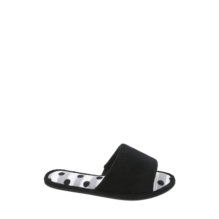 DF by Dearfoams Womens Terry One Band Slipper ()