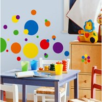 RoomMates - Primary Colors Just Dots Peel & Stick Wall Decals