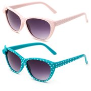 c28f880d5c3 Newbee Fashion - Kids Girls Cute Bow Fashion Sunglasses One Piece Shield  Lense (4-