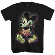 26ab52818 Disney Mickey Mouse Scribbles Disneyland World Tee Funny Humor Adult Mens  Graphic T-Shirt Apparel
