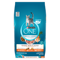 Purina One Tender Selects Natural Dry Cat Food (Various Sizes + Flavors)