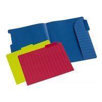 Pendaflex Letter Size File Folder With Secure Edge, Assorted Colors, 4 Pack, 12 Count