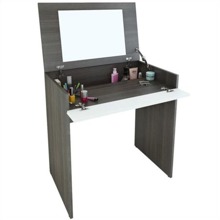 Nexera Allure Collection Bedroom Vanity, Ebony Wood