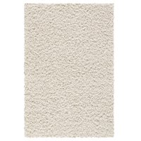 Mainstays Solid Textured Polyester Shag Rug Collection, Multiple Sizes and Colors