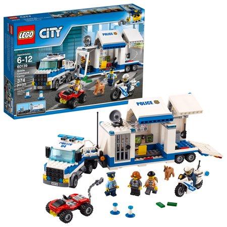 Lego City Police Mobile Command Center 60139 374 Pieces Walmart Com