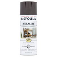 Rust-Oleum Stops Rust Metallic Oil Rubbed Bronze Brilliant Metal Finish Spray Paint, 11 oz