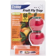 Terro T2502 Fruit Fly Trap, 2-Pack