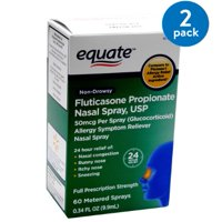 Equate Non-Drowsy Allergy Relief Nasal Spray, 50 mcg, 0.34 fl oz