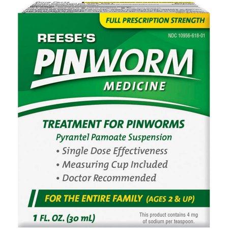Reese S Pinworm Medicine 1 Oz Walmart Com