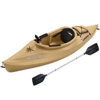 Sun Dolphin Excursion 10' Sit-In Angler Kayak Sand, Paddle Included