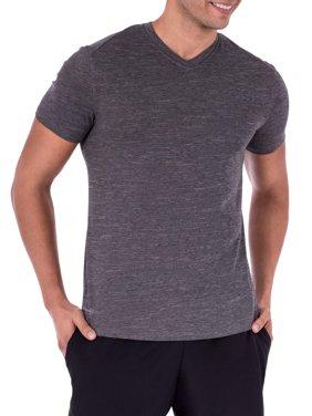 Men's Performance Activewear Short Sleeve Vneck Tee