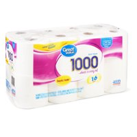 Great Value Bath Tissue, 16 Count