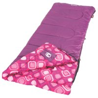 2ccf25247d8 Youth Girls Rectangular Sleeping Bag w  Thermolock