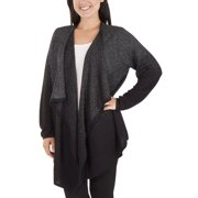 76062f2223f15 Women s Open Front Ombre Cardigan