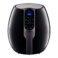 GoWISE USA 3.7-Quart 8-in-1 Electric Programmable Air Fryer (Black)