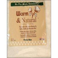 Warm & Natural Cotton Batting Twin 72x90