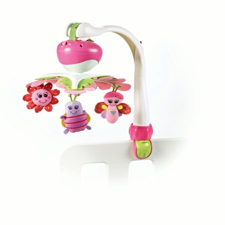 - Tiny Love Tiny Princess™ Take Along Soothing Baby Mobile, Pink