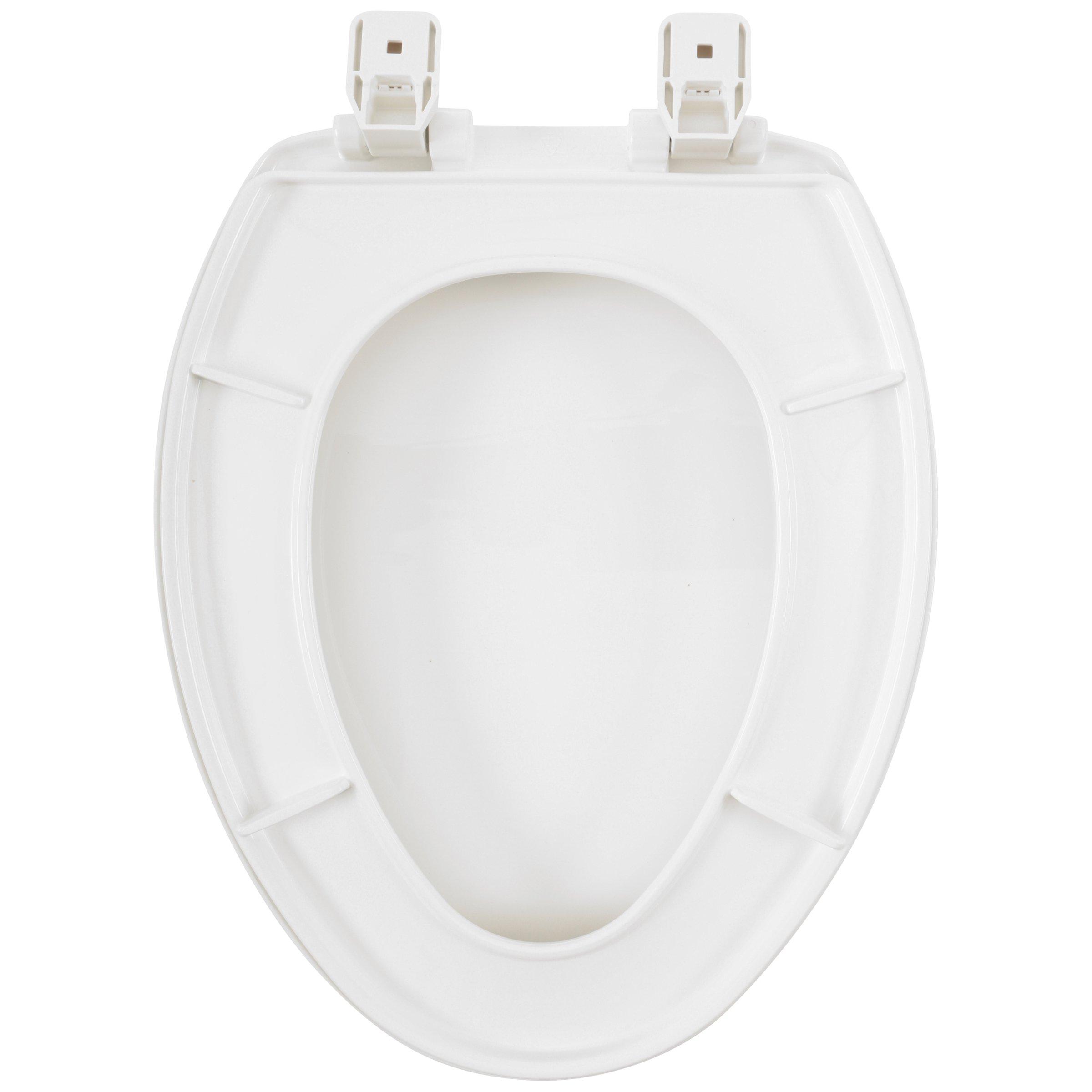 Tremendous Mayfair Elongated Toilet Seat With Sta Tite System Walmart Com Evergreenethics Interior Chair Design Evergreenethicsorg