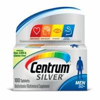 Centrum Silver Men 50+ Multivitamin Tablets, 65 Ct