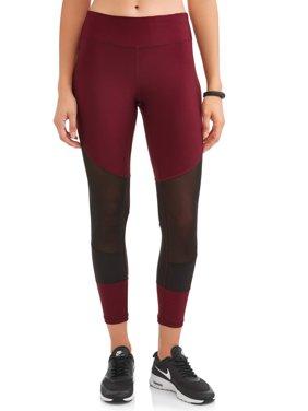 New York Laundry Women's Mesh Color Block Legging