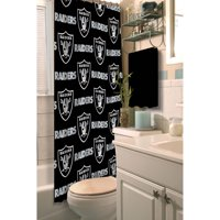 NFL Oakland Raiders Decorative Bath Collection - Shower Curtain