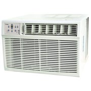 Koldfront WAC18001W 18,500 BTU 208/230V Window Air Conditioner with 16,000 BTU Heater with Remote Control