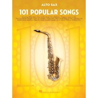 101 Popular Songs : For Alto Sax