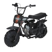 Monster Moto Classic Mini Bike Black With Pink And Red Decals