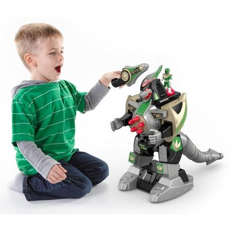 Imaginext Power Rangers Green Ranger & Dragonzord Rc](Troy Power Rangers)