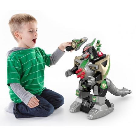 Imaginext Power Rangers Green Ranger & Dragonzord