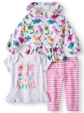 845fa32297 White Baby Girls Coats   Jackets - Walmart.com
