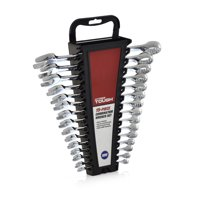 Hyper Tough 15-Piece Combination Wrench Set, MM