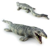 Lifelike Shape Animal Mosasaurus Dinosaur Model Cretaceous Period Toy Kids