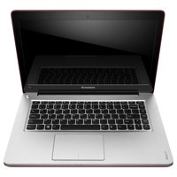 "Lenovo Red 14"" IdeaPad U410 59351636 Ultrabook PC with Intel Core i5-3317U Processor and Windows 8 Operating System"