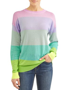 Women's Stevie Striped Crewneck Sweater