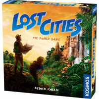 Thames and Kosmos Lost Cities 2-4 Player Board Game (Multicolor)