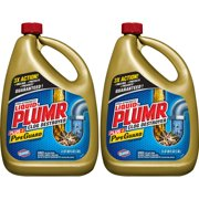 Liquid-Plumr Pro-Strength Full Clog Destroyer Plus PipeGuard, 80 oz