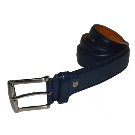Jeans Belt Big and Tall Genuine leather by Leatherboss (Aquarius Leather Belt)
